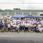 Pedalada Inclusiva de São Caetano do Sul leva mais de 400 pessoas