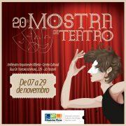 Ribeirão Pires promove até 29 de novembro a Mostra de Teatro 2017