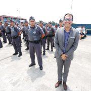 Atila entrega novos equipamentos para a Segurança