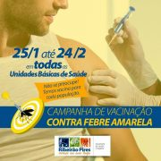 Ribeirão Pires inicia vacinação contra febre amarela nesta quinta (25)