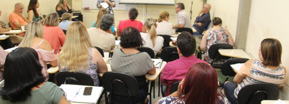 Diretores da rede municipal deRibeirão Pires participam de Semana de Formação