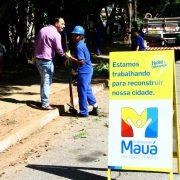 Pintou Limpeza recuperou 115 praças  em Mauá no ano de 2017