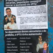 Material apócrifo contra Paulo Serra e Zacarias é distribuído em Santo André