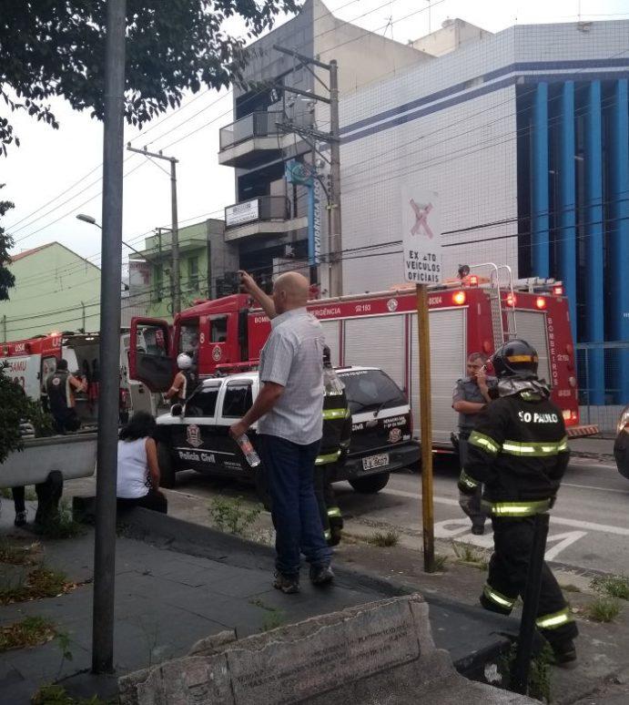 Explosão deixa três feridos na delegacia de Mauá