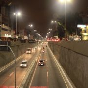 Avenidas Perimetral, Santos Dumont e Giovanni Battista Pirelli ganham iluminação de LED