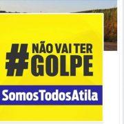 Aliados de  Atila usa frase do PT contra pedido de impeachment feito pelo partido