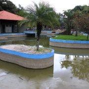 Ubiratan Figueiredo denuncia descaso com lago em parque público de São Caetano