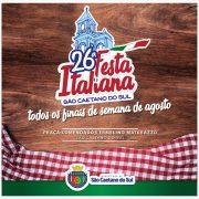 São Caetano credencia entidades para a 26ª Festa Italiana