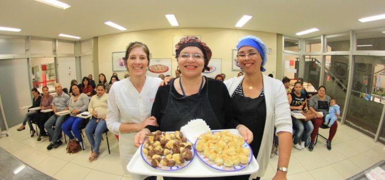 Mauá recebe inscrições para Oficinas Culinárias