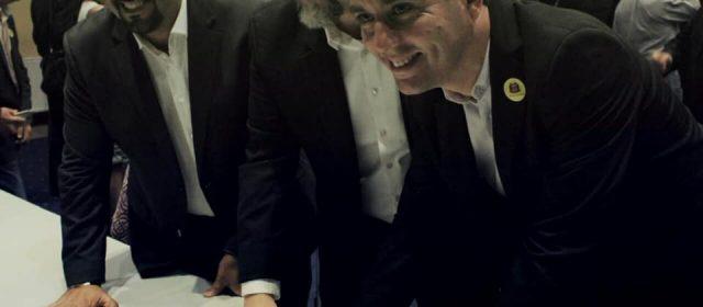 Scarpino consegue com deputado Carlos Bezerra liberação de emenda de R$ 160 mil para pavimentação em Sto André