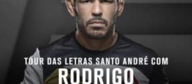 Santo André recebe neste sábado Rodrigo Minotauro no Paço