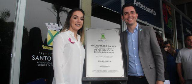 Santo André inaugura sede do Fundo Social de Solidariedade
