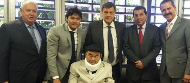 Jooji Hatoyama é denunciado ao Ministério Público por assumir o cargo sem condições de saúde