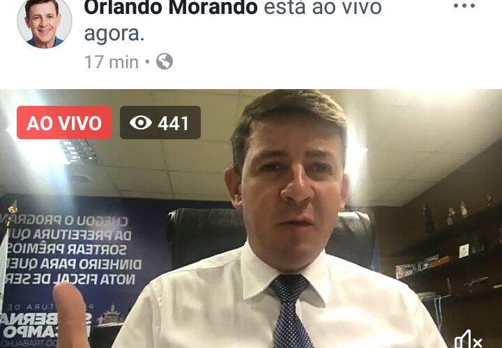 Orlando Morando anuncia entrega de uniforme e Kit Escolar