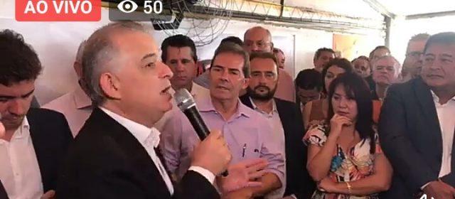Márcio França recebe apoio do Solidariedade e critica discurso de Doria