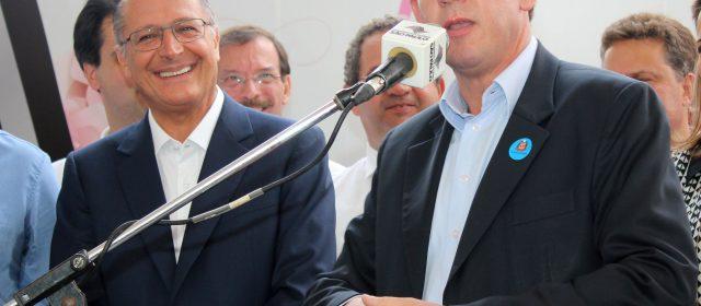 Alckimin anuncia despoluição da Billings  e desconversa sobre Metrô no ABC