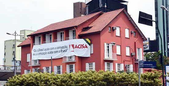 ACISA entra com mandado de segurança contra reajuste do IPTU