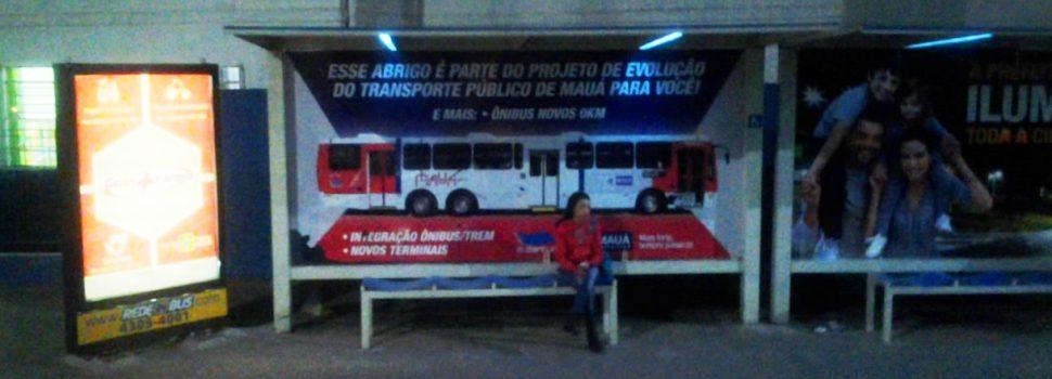 GCM de Mauá faz operação para garantir segurança em pontos de ônibus