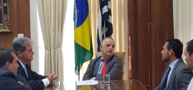 Visita a Márcio França deixa claro a intenção de Amigão D´Orto ser candidato a deputado