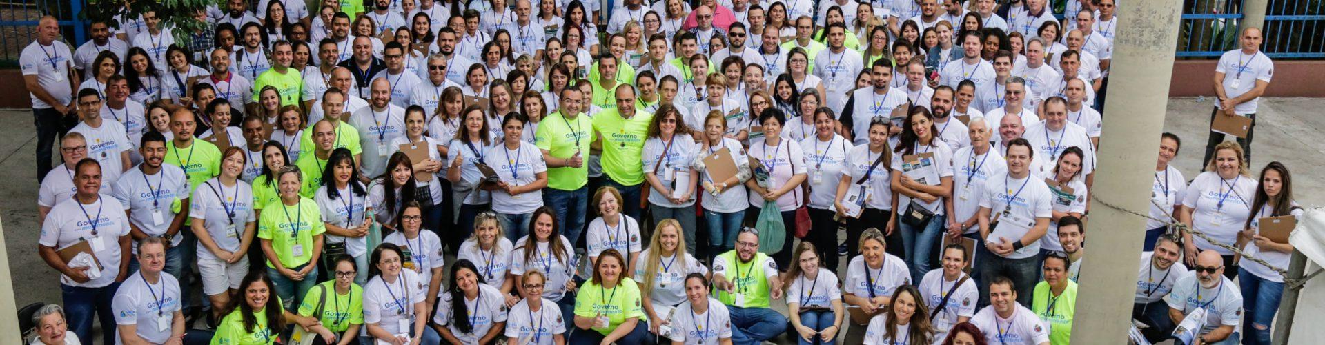 Atendimento porta a porta atinge 3.350 pessoas em SCS com o 'Governo em Movimento'