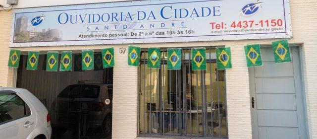 Ouvidoria de Santo André passa a atender em novo local