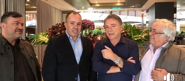 Em vídeo Kiko apresenta o apoio do  ex-prefeito Luiz Carlos Grecco ao seu governo