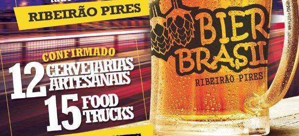 Ribeirão Pires terá festival de cerveja artesanal e food trucks nesse final de semana