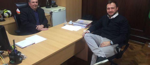 Sodré se reúne com Secretário-adjunto de Esporte do Estado para discutir projetos para São Caetano