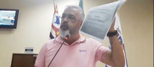 Vereador Cachorrão divulga documento com denuncia de suposta corrupção da família Damo