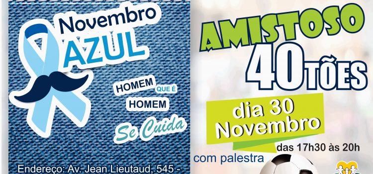 Amistoso dos Quarentões será nesta sexta-feira (30) no Estádio Teixeirão